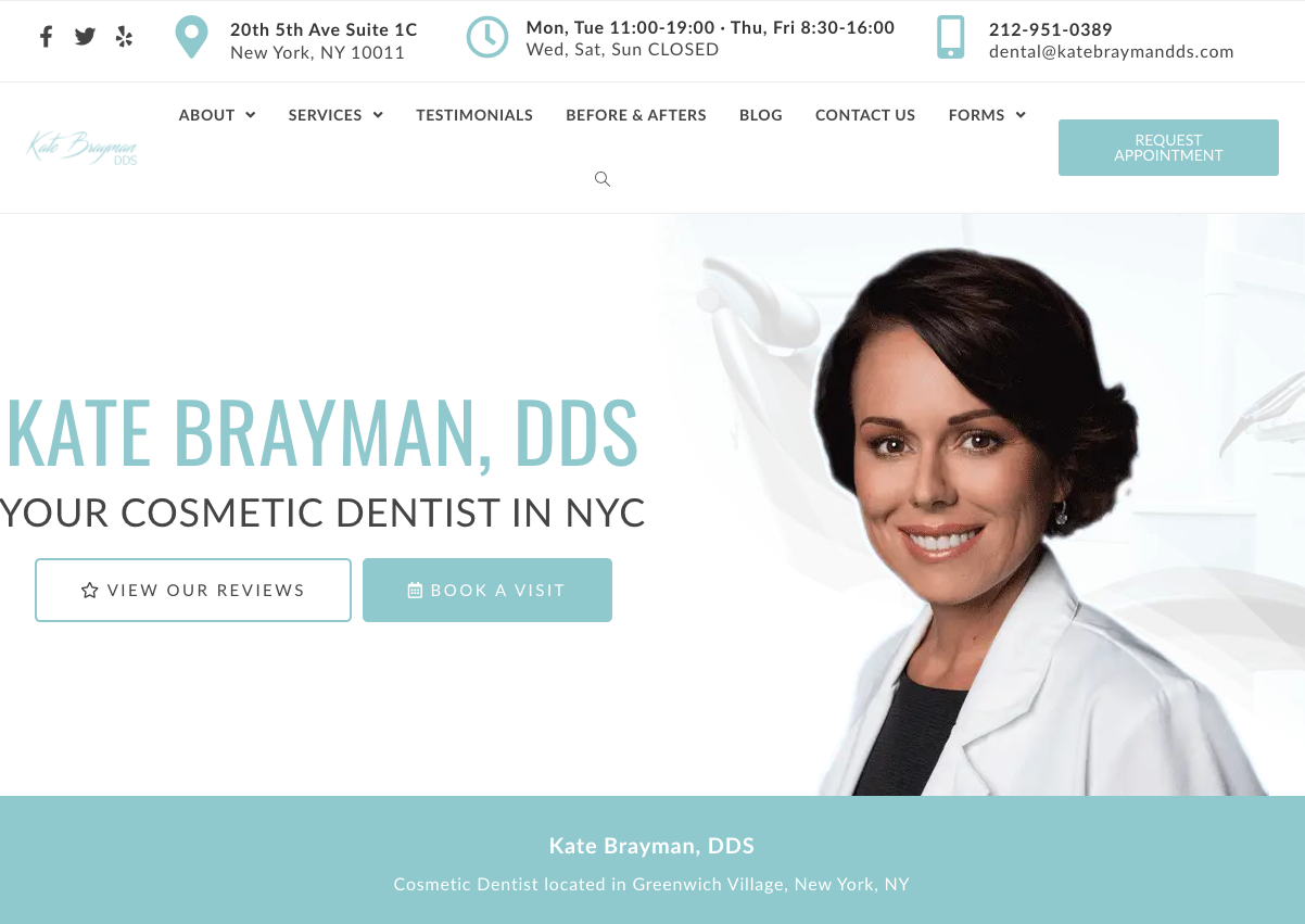 Best Ranking Dental Website - 4